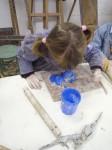 sculpture, technique de modelage, atelier enfant ,