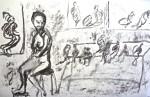 cours de dessin, atelier de modèle vivant, atelier de nu, cours de peinture,