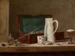 new frontier iv,exposition au louvre,nature morte,peintre américain