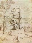 Jérôme Bosch, théorie de la couleur, technique de peinture, l'homme arbre