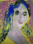 monotype,cours de peinture,modèle vivant