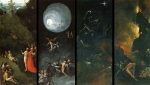 Jérôme Bosch, théorie de la couleur, technique de peinture, Jérôme Bosch, Vision de l'au delà 1
