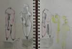 louvres,art grec,les cyclades,croquis,dessins