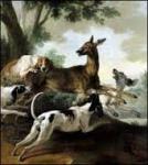 Oudry, peinture, panneaux décoratif,