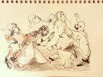 marie-madeleine,louvre,sculpture,europe du nord,dessin