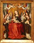 Louvre, peinture flamande, peinture de la renaissance, corus de dessin
