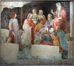 dessiner au Louvre, peinture italienne, Botticelli, Venus et les trois Graces, Les septs arts