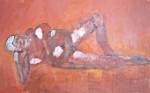 modèle vivant, peinture à l'huile, peinture artistique, couleur, création artistique