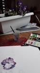 dessin, dessiner les fleurs, dessiner les plantes, confiner chez soi, WhatsApp, télétravail,
